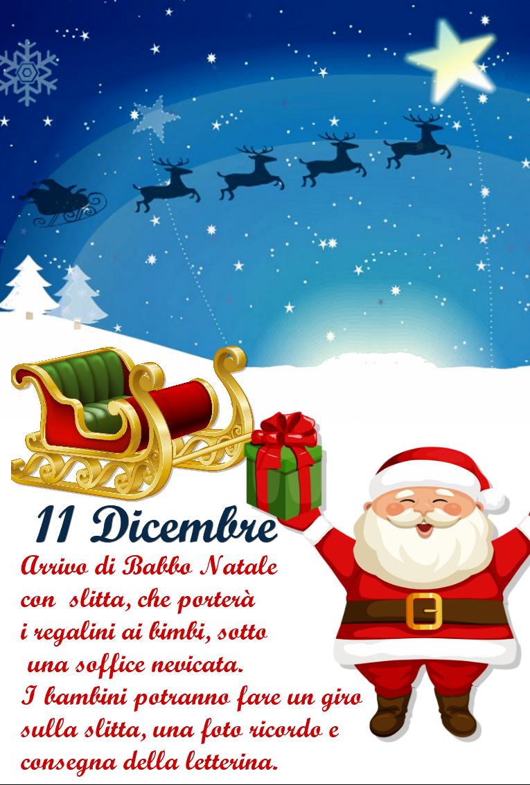 A Che Ora Arriva Babbo Natale.Arriva Babbo Natale Istituto Comprensivo Paritario Annibale Maria Di Francia